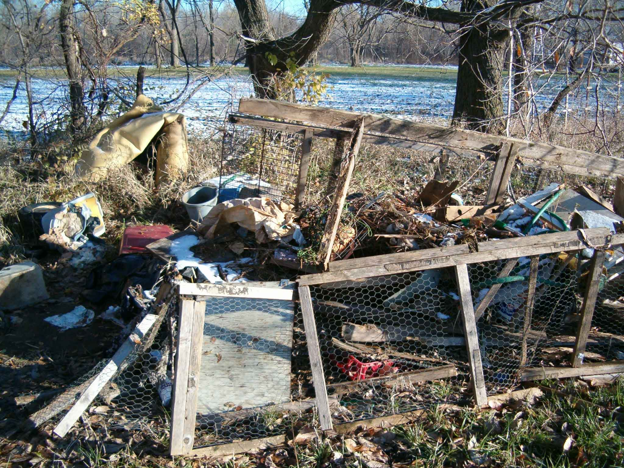 Illegal Dumping Photographs 183 Solid Waste Shawnee County